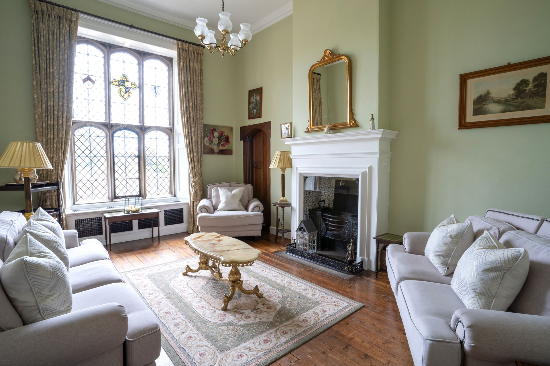 Preparation and Relaxation Room at Hengrave Hall
